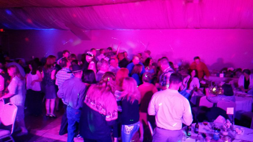 Packed dance floor