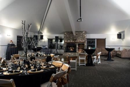 Reception area set-up