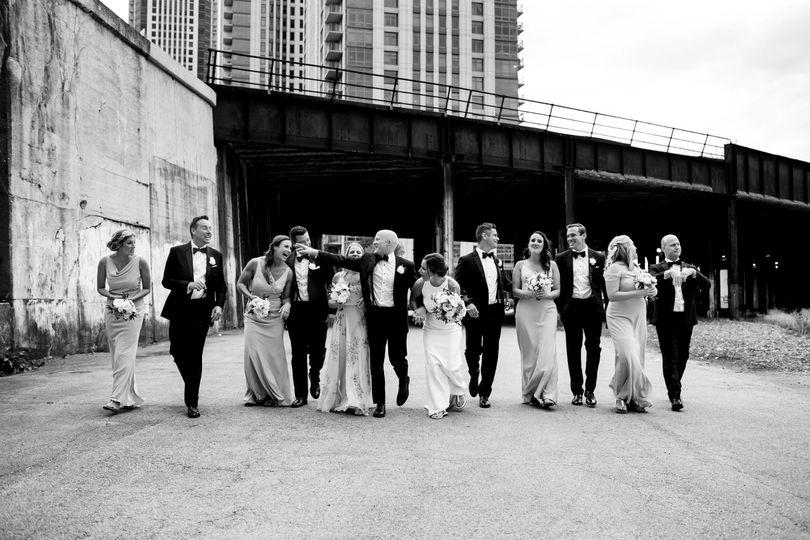 Urban Wedding Party