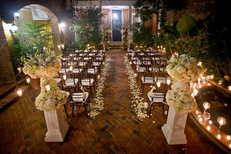 Chateau lemoyne french quarter venue new orleans la weddingwire 800x800 1427906787168 chateau lemoyne aisle junglespirit Choice Image