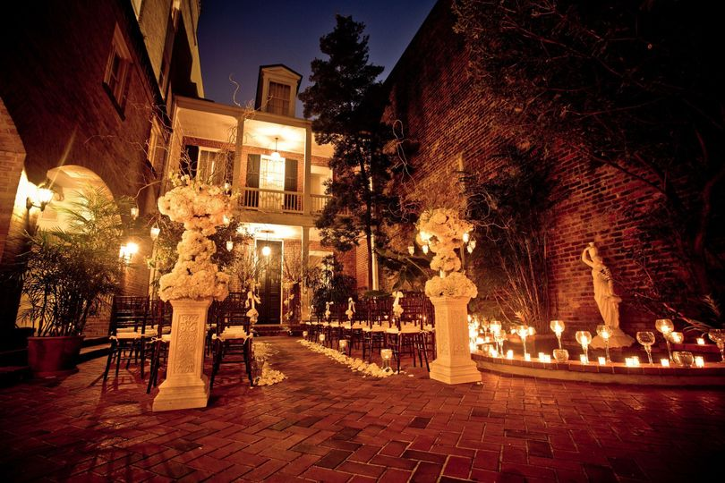 Private Garden Courtyard Ceremony