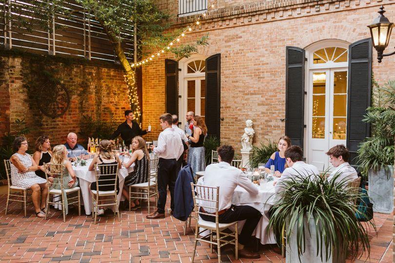 Garden Courtyard Reception