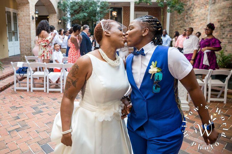 Couple's Wedding Ceremony
