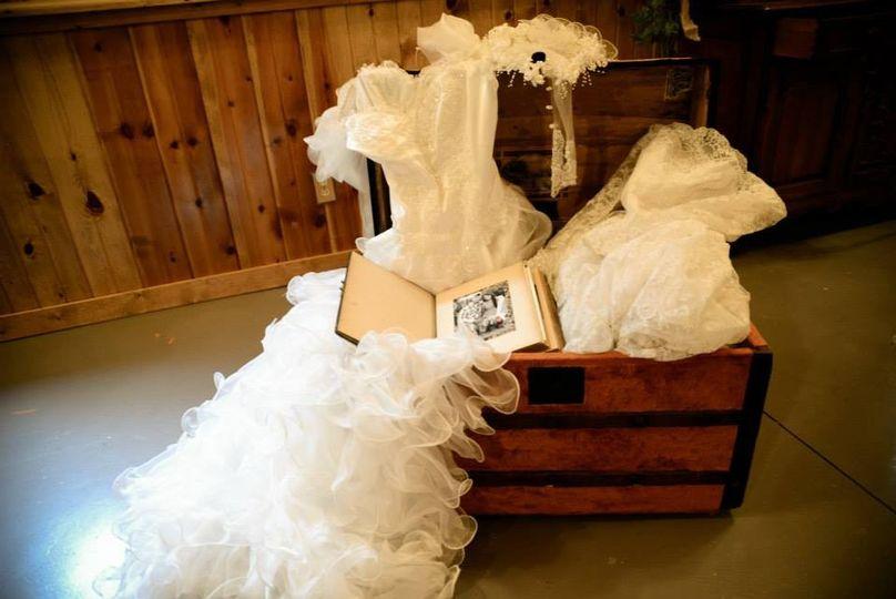 Bridal suit box