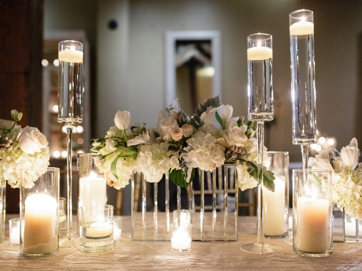 Tmx 1438284066142 Mirrored Container Chic Organic Centerpiece New Orleans, LA wedding florist
