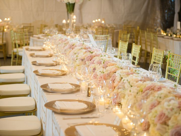 Tmx 1438284360752 Floral Garland Table Runner Hydrangea Fresia Ivory New Orleans, LA wedding florist