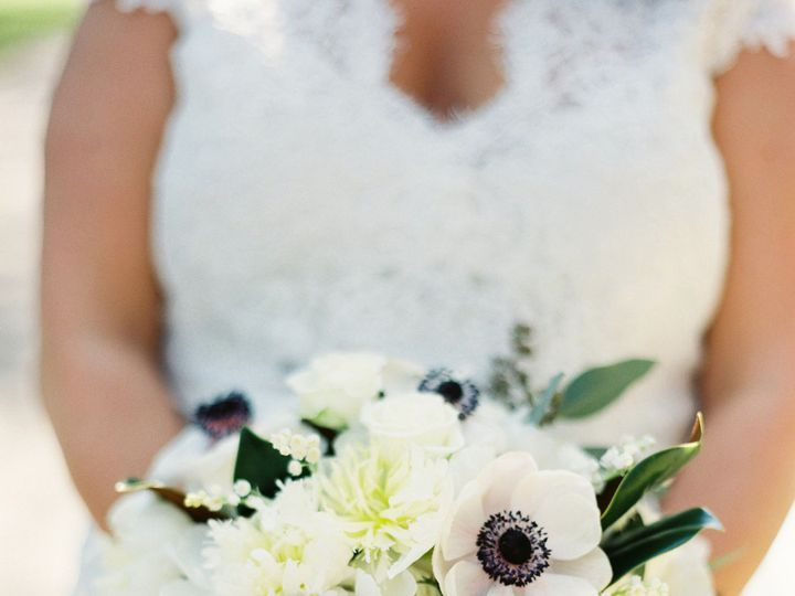 Tmx 1438285985371 Wild Large Bridal Bouquet Anemone Lily Of The Vall New Orleans, LA wedding florist
