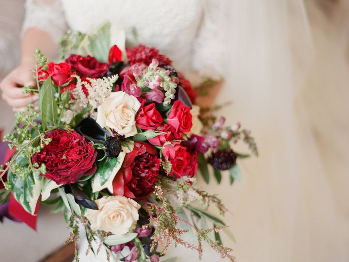Tmx 1470418388484 Beautiful Red Bouquet Asymmetric Roses Peonies Sca New Orleans, LA wedding florist