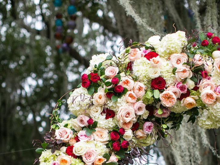 Tmx 1470418588362 Floral Arch Red Roses Vines Juliet Garden Roses Hy New Orleans, LA wedding florist
