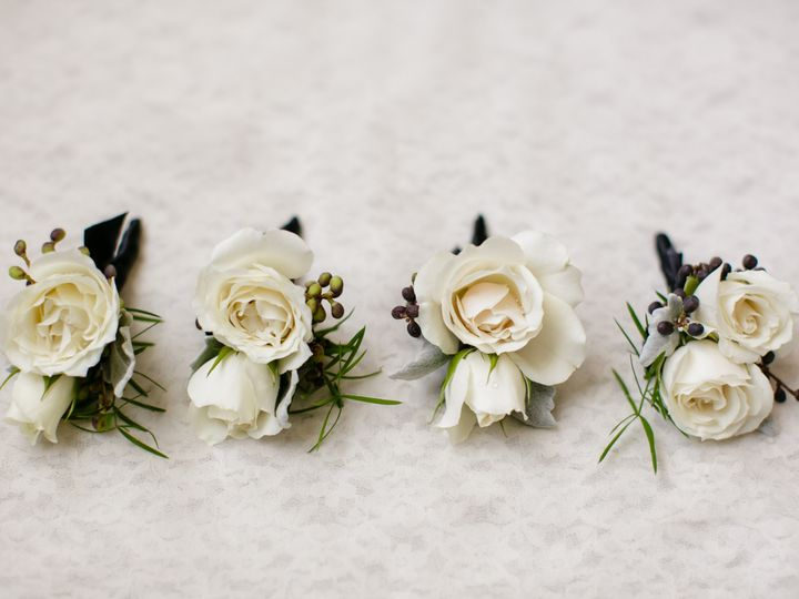 Tmx 1470418691393 Ivory Majolica Spray Rose Greenery Boutonniere New Orleans, LA wedding florist