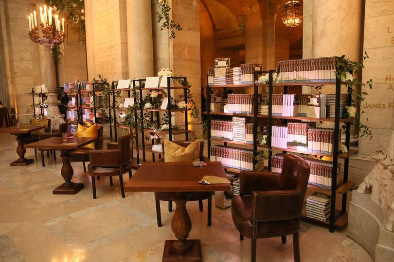 Indoor view of The New York Public Library