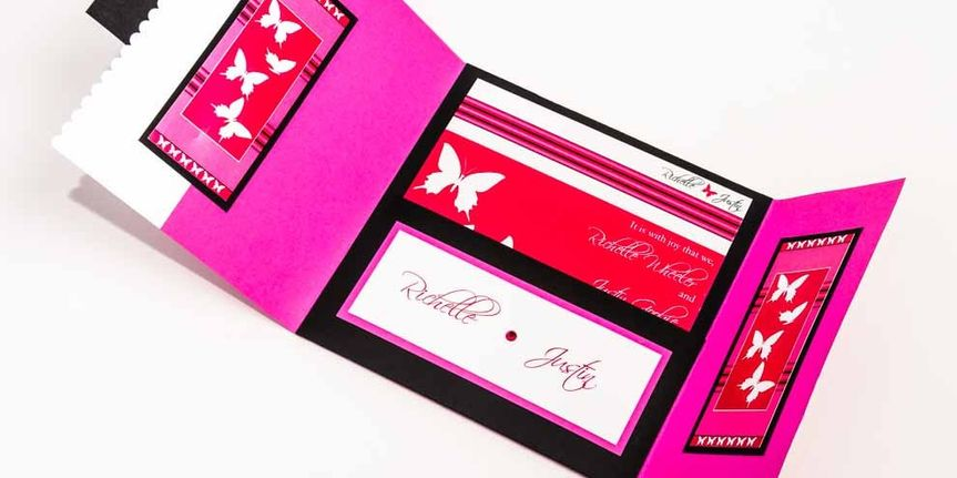 Butterfly pink theme