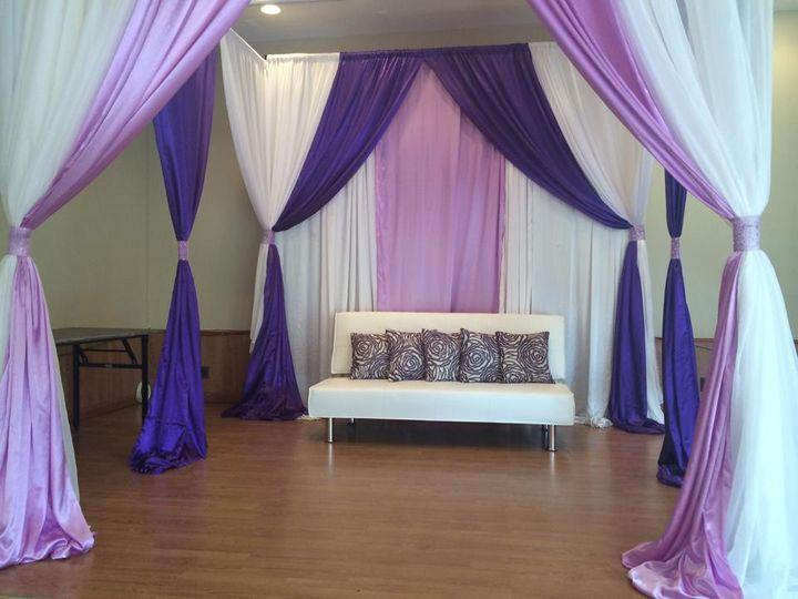 Lavender Draping