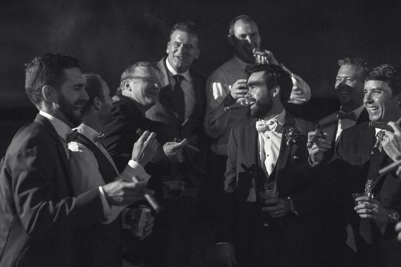 groomsmensmokingcigardallasfilterbuildingdallas