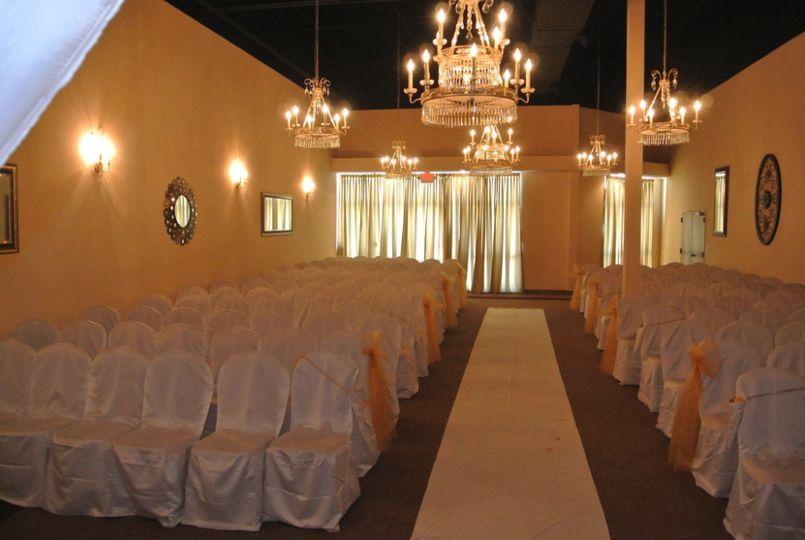 Ceremony hall