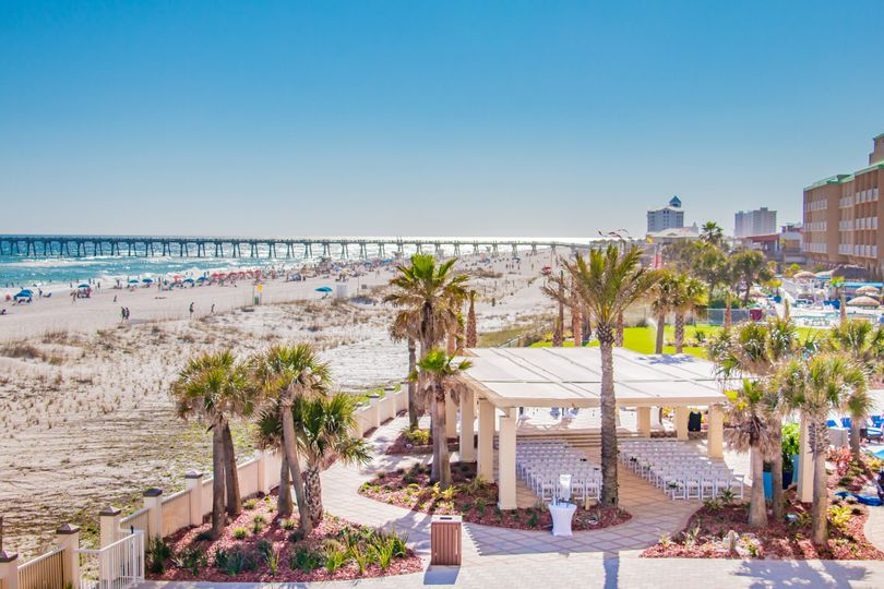 Hilton Pensacola Beach Weddings Pensacola Beach Fl