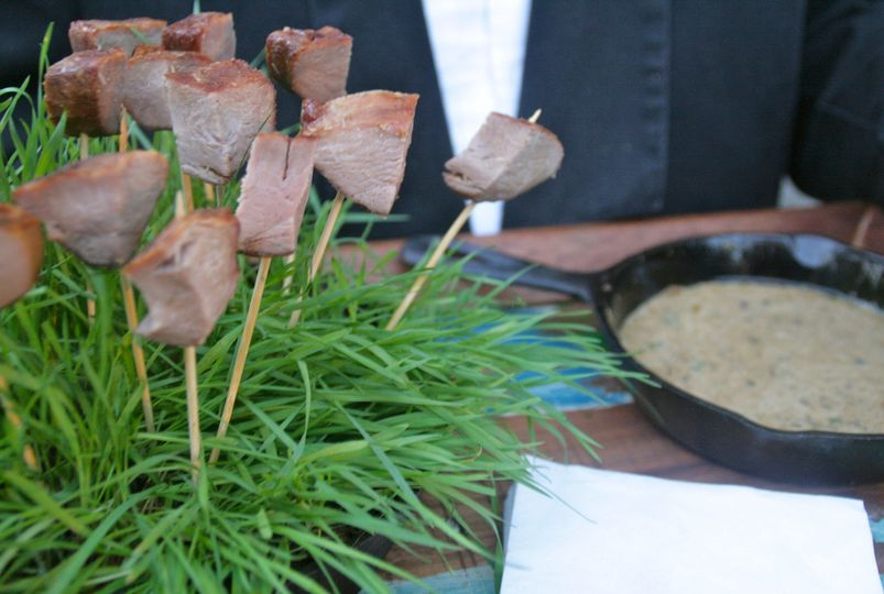 Marinated Cajun Duck Breast with Cognac and Black Peppercorn Sauce