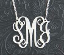 Our brides love giving this floating initial necklace as a gift to their bridesmaids. It serves as a...