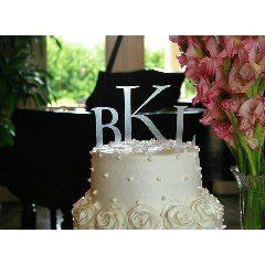 Our Cake Topper Monograms are available in a variety of styles and colors. Great for all the cake...