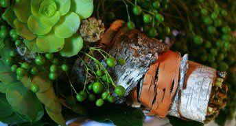 Bridal bouqet, succulents