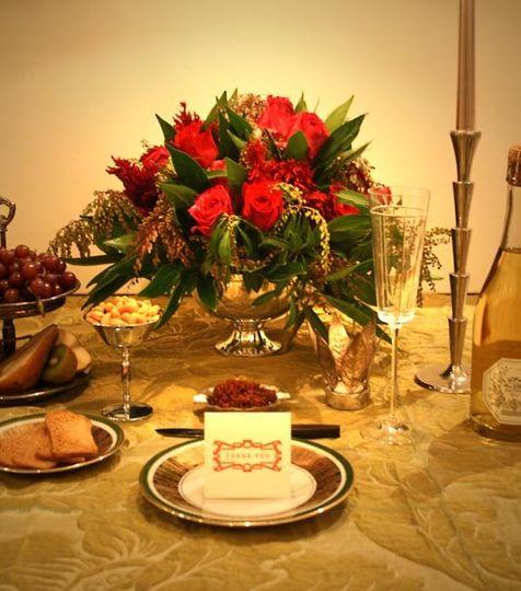 Romantic Engagement Party