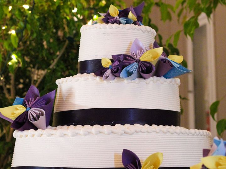 Tmx 1519260357 9f7d31f7e1bdef1e 1519260355 238ecdcc8b58ee03 1519260333613 7 Wedding Cake Blue  Fullerton, California wedding cake