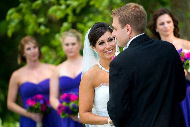 brandywine manor house outdoor ceremony photograph