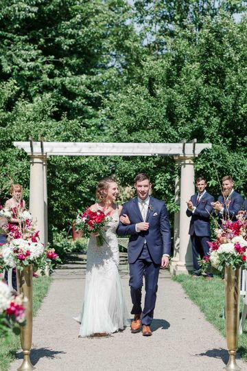 The ceremony Garden | Maison Meredith Photography