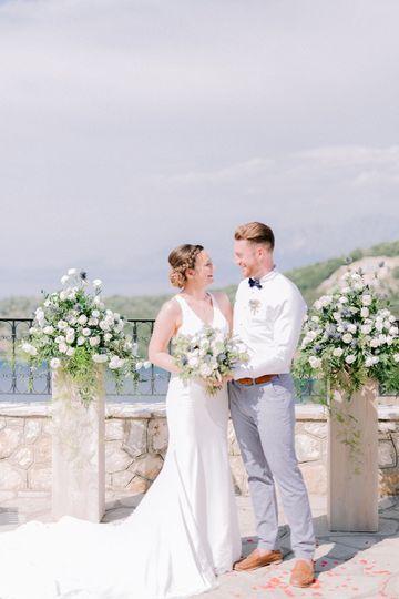 Meganisi wedding
