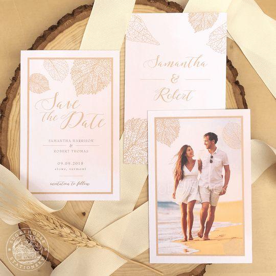 Sugarhouse Stationery - Invitations - Williston, VT - WeddingWire