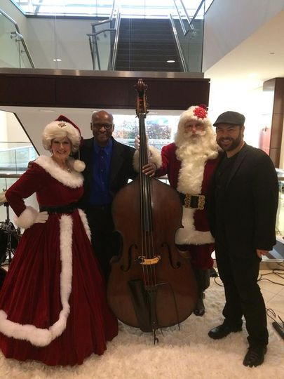 With Mr. and Mrs. Claus