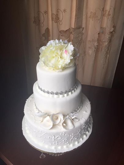 Plain white cake