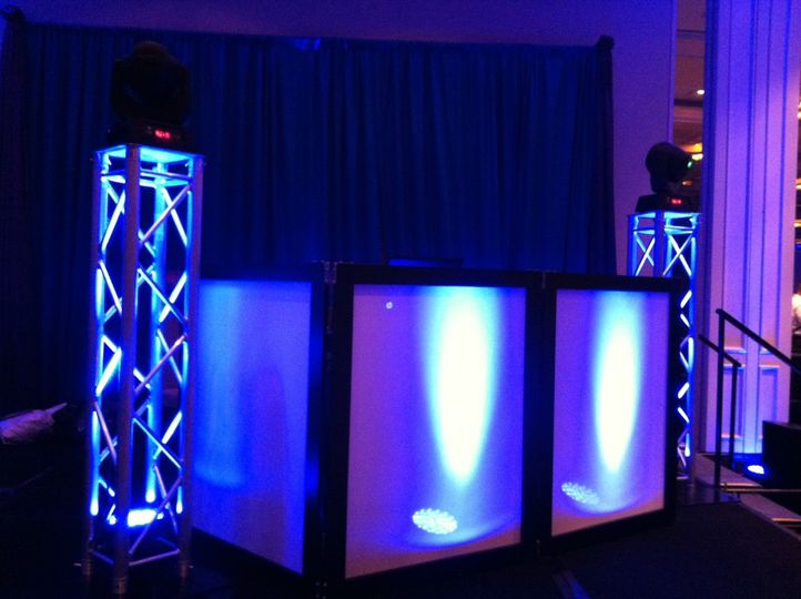 pic of dj booth blu