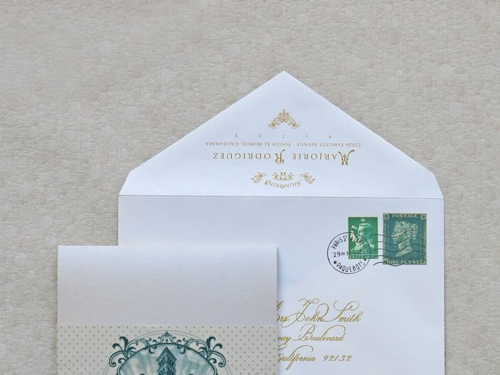 Tmx 1418843587855 Jasminmichelledesignsmarjorieclose Glendora wedding invitation