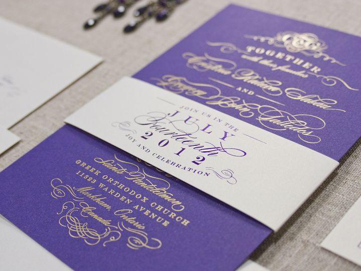 Tmx 1418845682518 Jmdcristinasuitefoildetail Glendora wedding invitation