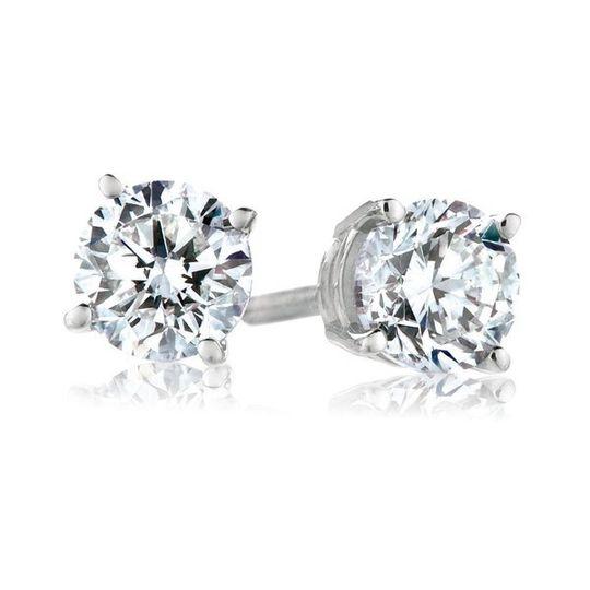 Staple wedding ring