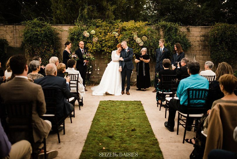 Arkansas Arts Center wedding