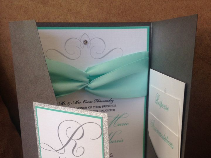 Tmx 1459081354989 Img1426 Babylon, NY wedding invitation