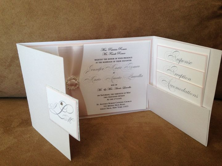 Tmx 1459082271547 Photo 7 Babylon, NY wedding invitation