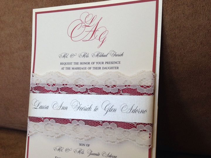 Tmx 1459553666325 Img1472 1 Babylon, NY wedding invitation