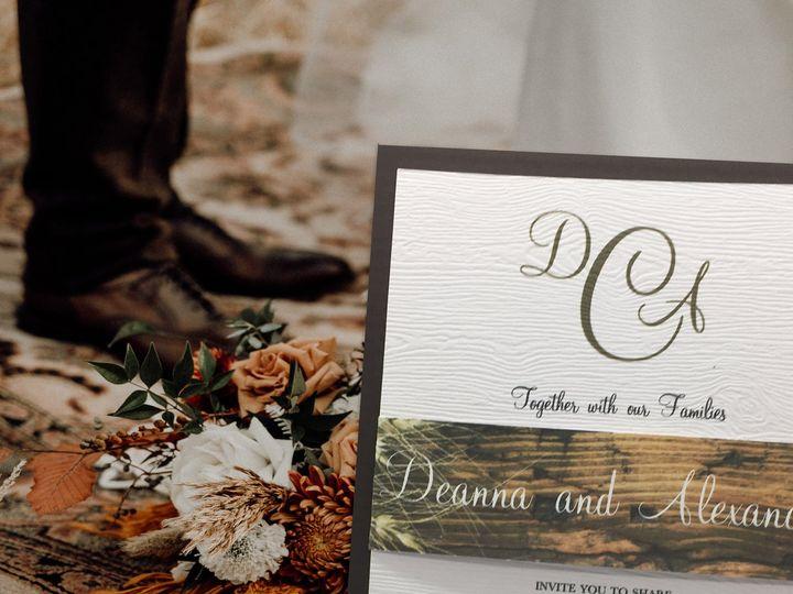 Tmx Rustic 51 644854 161378221887382 Babylon, NY wedding invitation