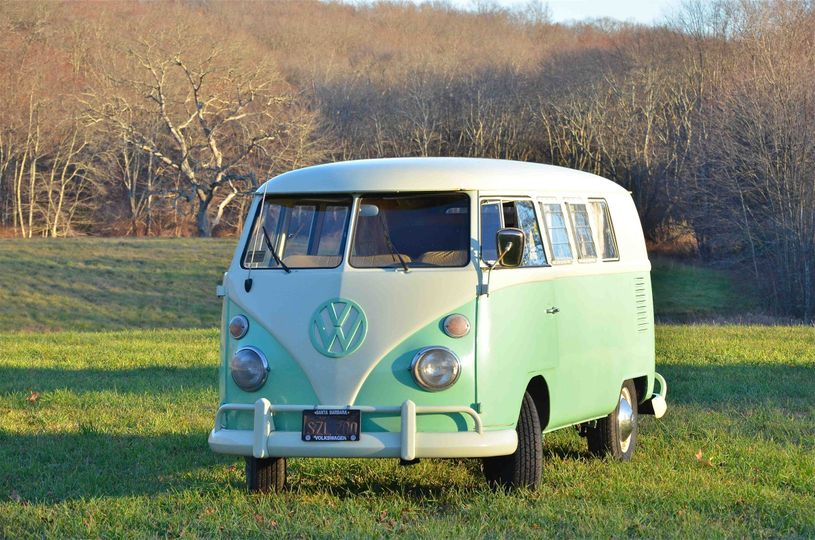 Chloe is a 1967 VW bus converted into a rolling photo booth