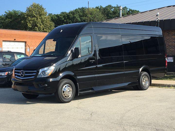 Tmx 1509027695954 Benz Van Milwaukee, Wisconsin wedding transportation