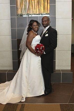 bride and groom lobby