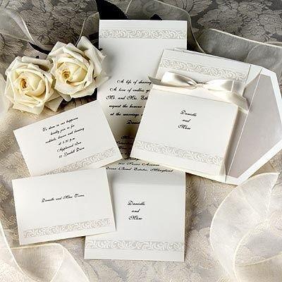classical wedding invitations 2011