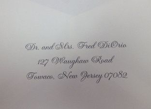 Fancy Fonts Calligraphy - Invitations - Needham Heights, MA