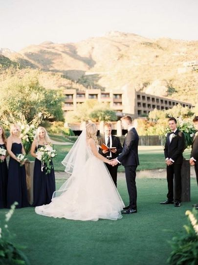 Ceremony at Lowes Ventana Canyon