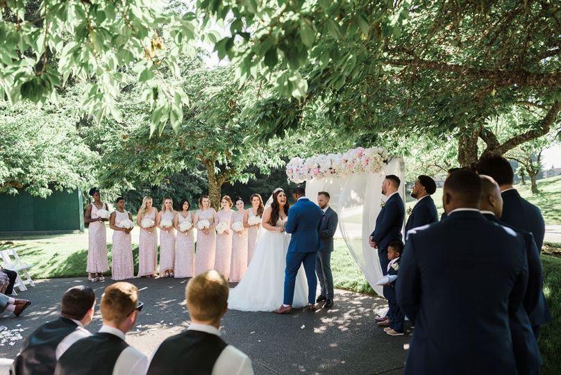 Outdoor Ceremony Area