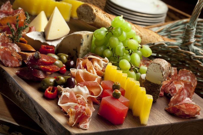 Cheese and cold cuts board