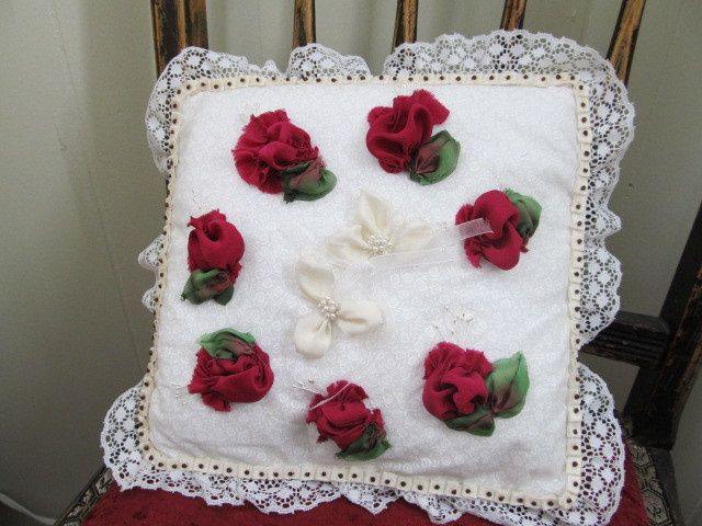 Ring Bearer Pillow.  Pick any kind of style you like